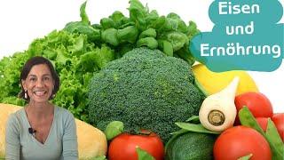 Eisenmangel und Ernährung | Eisenreiche Lebensmittel  - mit Dagmar von Cramm