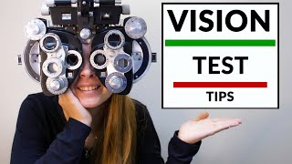 Vision Test Tips - Remove Anxiety and Get Perfect Prescription Glasses - Eye Doctor Explains