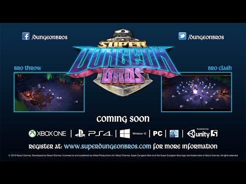 Super Dungeon Bros Gameplay Teaser Trailer thumbnail