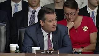 Sen. Cruz at Hearing on National Telecommunications and Information Nominee - October 4, 2017