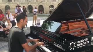 Nuvole Bianche- Ludovico Einaudi Piano- Pianos en la calle Toledo 2017