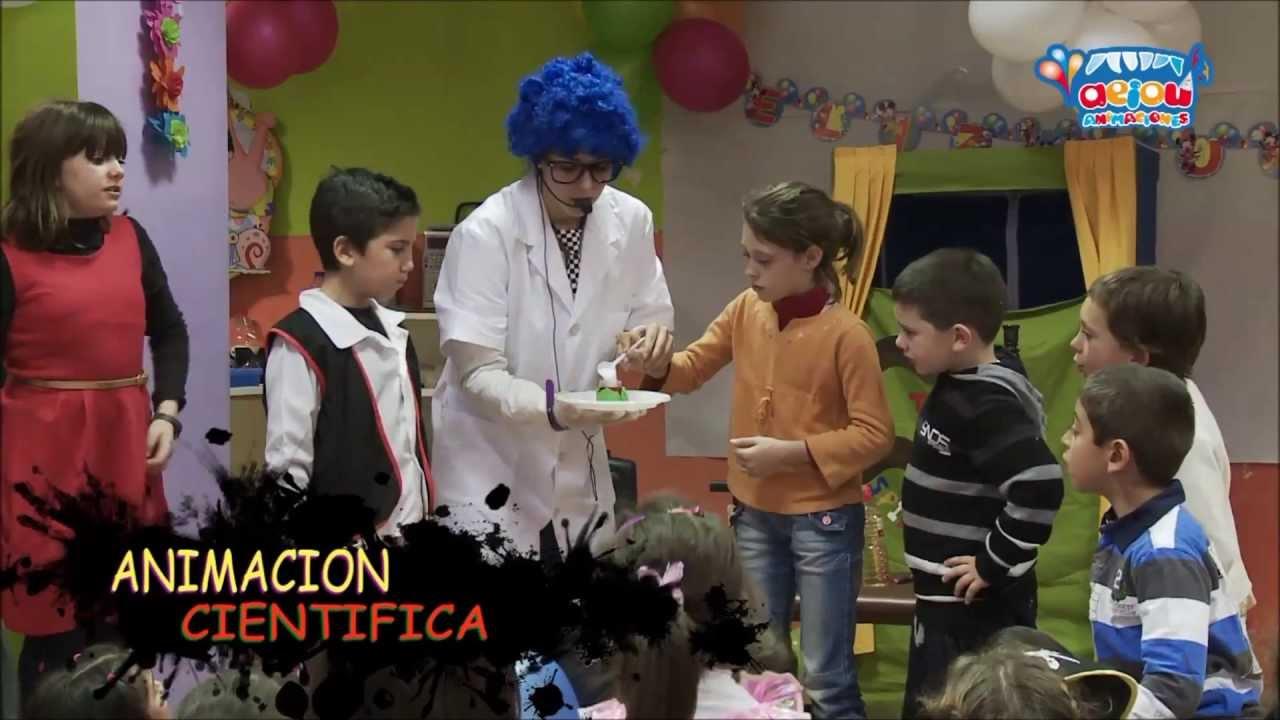 Animadores para fiestas infantiles en Valencia a domicilio cumpleaños