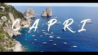 BEAUTIFUL ISLAND OF CAPRI, ITALY 4K