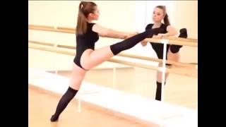 Очень красивые девушки - гимнастки