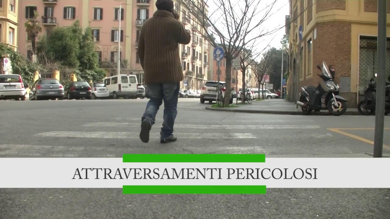 Roma, attraversamenti pericolosi