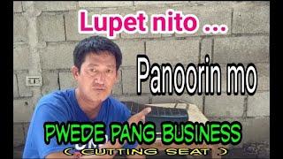 MALUPITANG PAG TABAS NG UPUAN NG MOTOR ( DIY ).