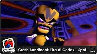 PS2 - Crash Bandicoot: L'ira di Cortex - Spot TV Italia (2001)