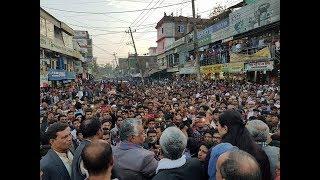 কুড়ি সিদ্দিকীর ধানের শীষের মিছিলে লাখো মানুষের ঢল - Bangla Last Update News AS tv