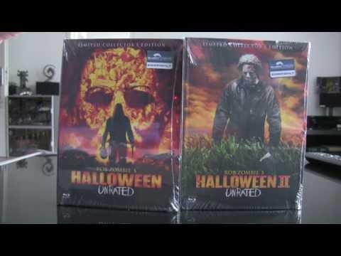 Unpacking - Halloween Remake I & II Mediabook Rob Zombie