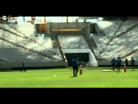 Treino do Timão na Arena Corinthians