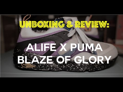 Alife x Puma Blaze of Glory Unboxing and Review