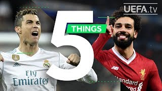 RONALDO, SALAH, UCL FINAL: 5 Things You May Not Know About Real Madrid v Liverpool - Video Youtube