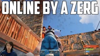 RUST - ONLINE RAIDED BY A ZERG
