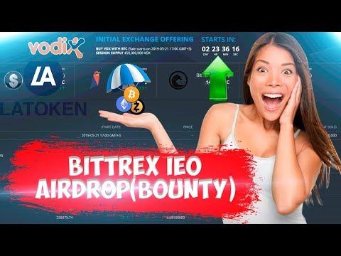 📢VODIX AIRDROP | IEO BITTREX ✅ - [LATOKEN ][$20 - $30] 👈