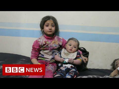 Syria war: Hundreds