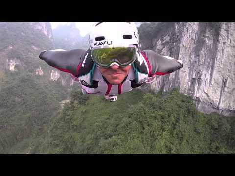 Marshall Miller - Tianmen Mountains - Wingsuit BASE Jump