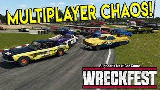 INSANE MULTIPLAYER DERBY & RACES! - Next Car Game: Wreckfest Gameplay - Wrecks & Races
