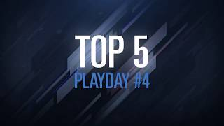 6 French League : Top 5 Semaine 4