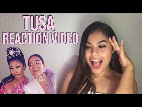 KAROL G, Nicki Minaj - Tusa *Reaction*
