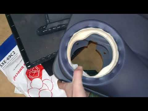 Шумоизоляция дверей ваз 2114, установка подиумов и задней полки.