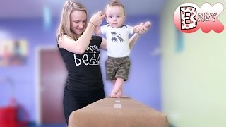 BABY'S FIRST: GYMNASTICS!