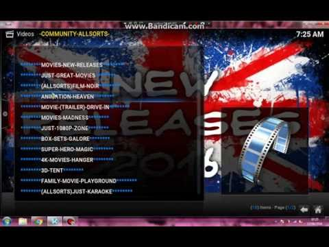 KODI 2016 LIVE TV / NEW MOVIE / TV PROGRAMS / XXX / SPORT AND MUCH MUCH MORE.