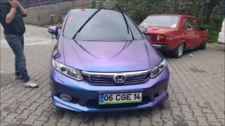Honda Civic FB7 Change Color