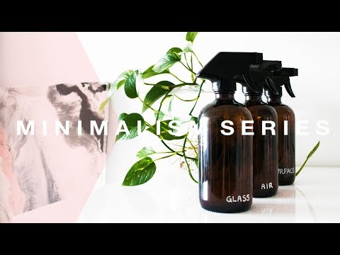 DIY Natural Cleaning Products – Minimal Waste [Minimalism Series]