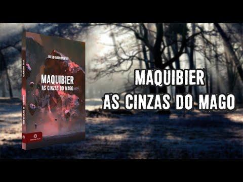 Maquibier   As cinzas do mago - Book Trailer