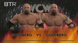 WWE 2K17 Goldberg WCW Version VS Goldberg WWE Version