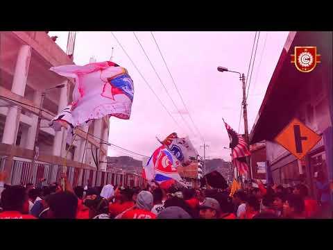 """FVRIA ROJA 2018 (liguilla - Cusco)"" Barra: Fvria Roja • Club: Cienciano"