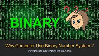 Why Computer Use Binary Number System   Why Computer Understands 0 And 1