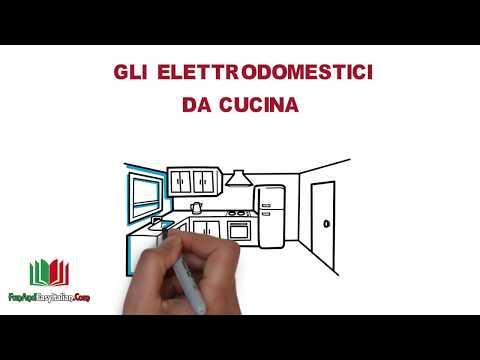 GLI ELETTRODOMESTICI DA CUCINA (lessico italiano)