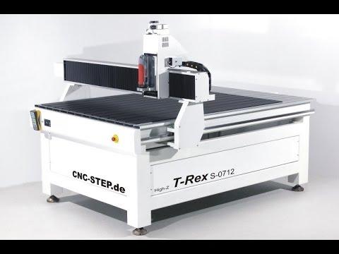 T-Rex : Die neue, präzise und günstige CNC Fräse/Portalfräsmaschine mit massiven Stahlgussuntergestell !