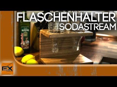 Sodastream Flaschenhalter schnell und einfach gebaut