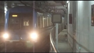 preview picture of video '[Shanghai Metro025]Line8 AC07 Train 上海地下鉄8号線AC07@JiYang-Road 済陽路'