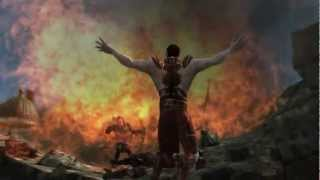 Dragon Age cutscene Cinematic Design showreel 2010-2012