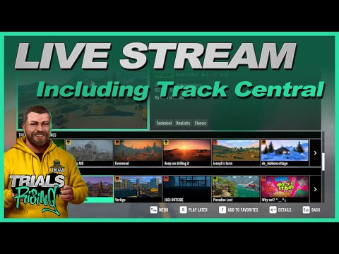 Trials Rising Live Stream - 30 April - Fast times, Lessons and Track Central!