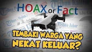 Hoax or Fact: Drone Menembaki Warga Malaysia yang Nekat Keluar saat Lockdown Virus Corona?