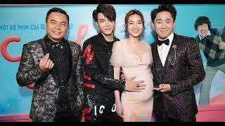 """Hariwon cùng dàn sao """"KHỦNG"""" chúc mừng Trấn Thành và """"Vợ bầu"""" Ninh Dương Lan Ngọc"""