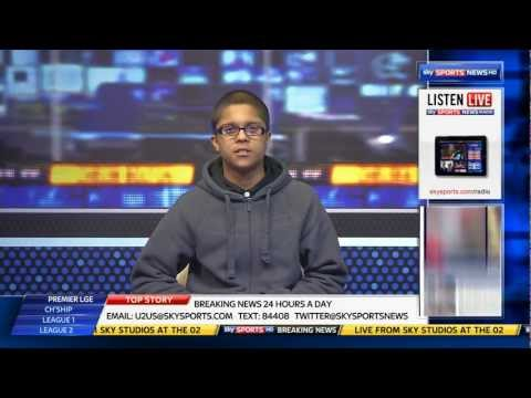 Bilal at Sky Sports News HD