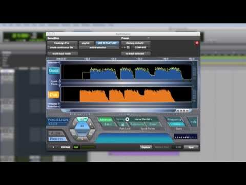 Demo of VocALign PRO 4 for tightening vocal harmonies