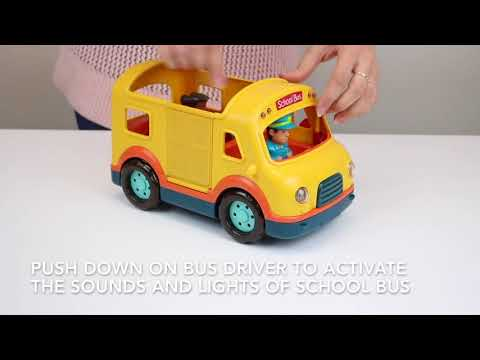 Battat - Light & Sound School Bus