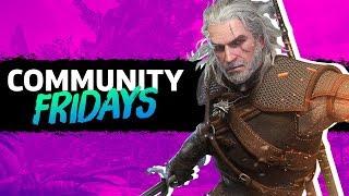 Hunting As Geralt In Monster Hunter World | GameSpot Community Fridays
