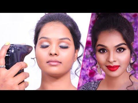 Air Brush Makeup for Beginners | Wedding & Reception Look