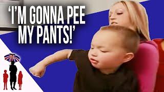 3Yr Old Wets Himself On Purpose | Supernanny