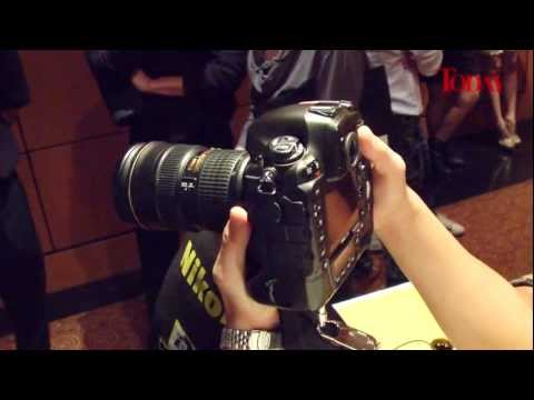 The New Nikon D4 Professional DSLR