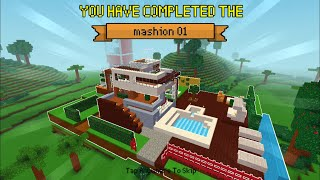 Gambar cover Block Craft 3D : Building Simulator Games For Free Gameplay#362 (iOS & Android) | Modern Mansion
