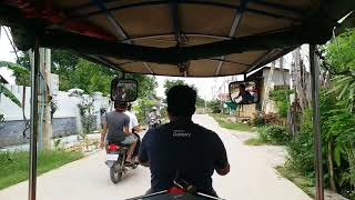 preview picture of video 'Tuk tuk to Killing Fields in Phnom Penh Cambodia'