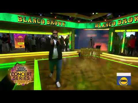 Blanco Brown - Funky Tonk & Git Up (Live On GMA)